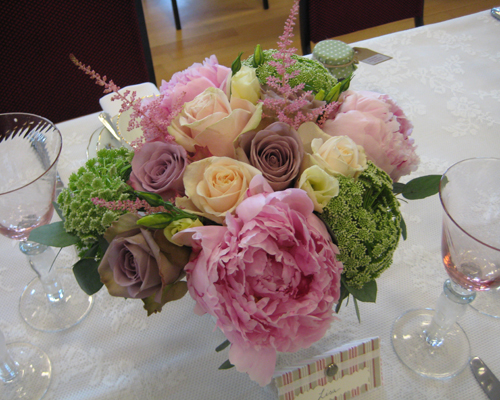 Vintage Wedding Reception Decorations Flowers The Grange And