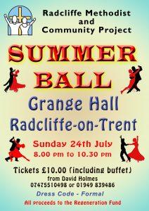 Summer Ball July 2016 A4 poster